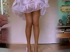 1950's Nylon Tights Legshow