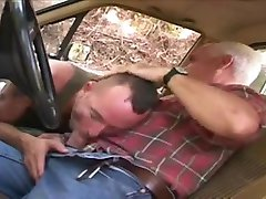 Daddy MACHO and son on his PICK-UP