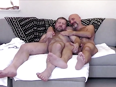 Two hot hairy bears