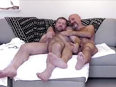 Two hot hairy bears
