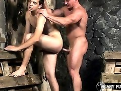 Muscle Man Alfredo fucks Brand Shay's ass and cums all over