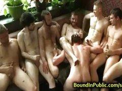 BDSM short clip-group humiliation