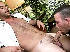 Gay4Pay with huge cock fucks my buddy.