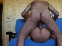 An excellent view of some bareback fucking! (Old - Young)