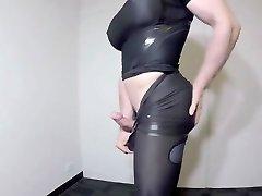 Tight Spandex & Meaty Tits