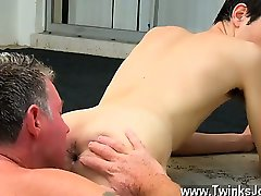 Gay sex Daddy Brett obliges of course, after sharing some or