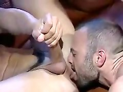 Incredible male in horny blowjob, big dick homosexual sex scene