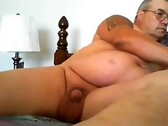granddad stoke on webcam