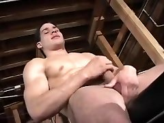 A homo hunks muscle man enjoys anal fuckfest