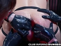 FistingInferno - Mysterious Leather Three-way Deepthroat, Fuck And Fist