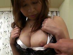 Ugly Japanese girlie Machiko Nishizaki cravings of getting fucked
