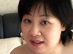 44yr old Chubby Huge-boobed Japanese Mom Craves Cum (Uncensored)