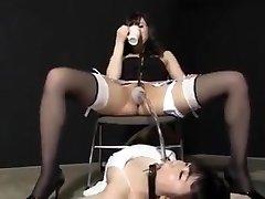 Jap pee female dom 1