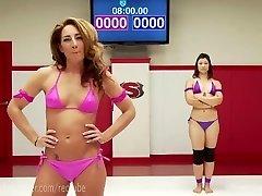 Extraordinary All Girl Erotic Wrestling