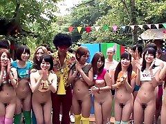 Ayaka Tomoda & Hitomi Kitagawa in Erito Orgy Camp Part 1 - TeensOfTokyo