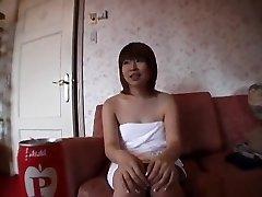 Incredible Asian girl in Hottest Blowjob, Bukkake JAV movie