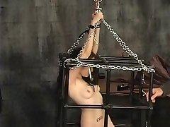 Amazing amateur Fetish, BDSM porn movie