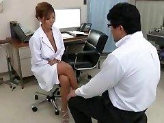 Exotic Japanese chick Kairi Uehara in Incredible Yam-sized Tits, Cumshots JAV movie