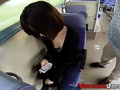 Japanese first-timer fingerblasted