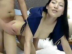 Exotic homemade Cuckold, Bony hardcore clip