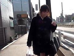 Japanese teenage spraying
