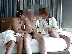 duo share asian hooker for swing asiaNaughty part 1