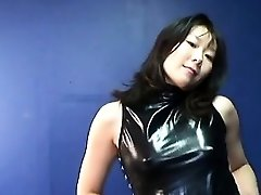 Japanese mature cockslut getting real randy on her own