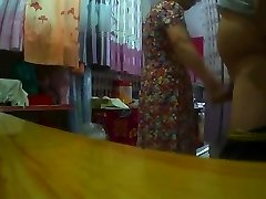 Flashing Made Asian Grandmother Horry