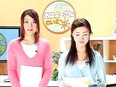 Bukkake TV Šovs ar Raķešu Āzijas Porno Filmas