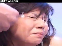 Japanese Bukkake And Facials Collection 30334