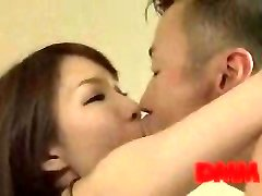 Maisaki Mikuni smooch and fuck session