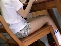 Japanese girls boning objects