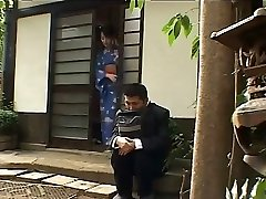 Japanese wife luvs the glory holes-by PACKMANS