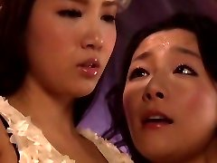 Horny Japanese girl Ayaka Tomada, Aya Asakura in Hottest lesbian, Sixty-nine JAV movie