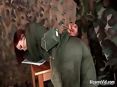 Hot red haired getting slapped part3