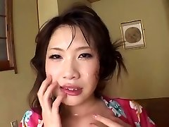 FH-16 Gagging Jizm Cleaners - Asian Deep-throat