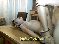 Leggy Thai Honey Imprissoned In Rusting Hotel