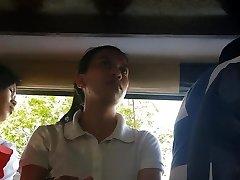 Boso sa jeep. HRM student...SARAP ng white g-string mo miss!