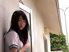 Hottest Japanese model Mayu Yukii in Hottest pussy eating, college JAV scene