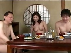 Japanese mature mommy and step son