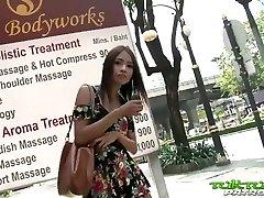 Tuk Tuk Patrol - Stunning Thai girl takes on immense white cock