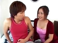 Japanese Mom Instructs Sonnie After He Sees Her Tits