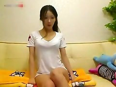 Peep! Live chat Onanism! - Korean Hen darksome hair skinny bombshell Part.1
