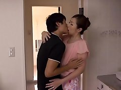 Aoi Aoyama in Cougar Wants To Pound Her Stepson's Friend - MilfsInJapan