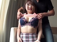 Big-titted bombshells who are sensitive to orgasm many times