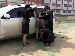 chinese handcuffed