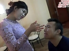 Chinese femdom drool on face