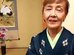 Japanese 70years old granny torn up