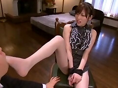 Best Japanese girl Rico Yamaguchi in Exotic Foot Fetish, Pantyhose/Pansuto JAV flick