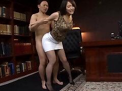 Japanese Office Slut Fucked Firm